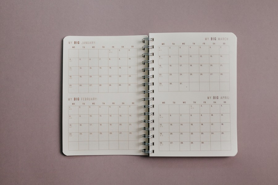 2021 Weekly Planner - DARK FOREST