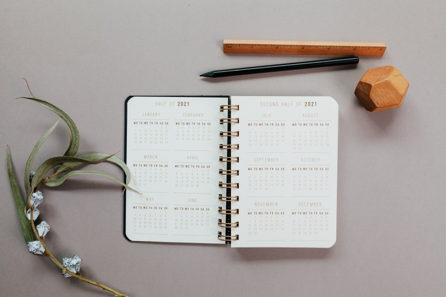 2021 mini planner A6 size - DELUXE MINIMAL