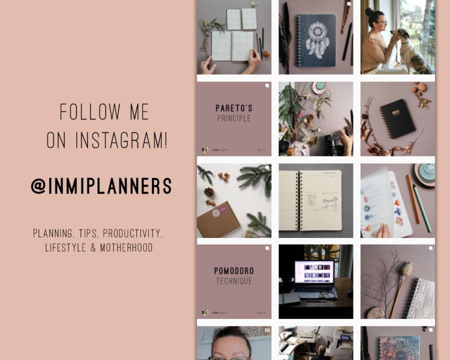 2021 weekly planner - Floral screenpinting