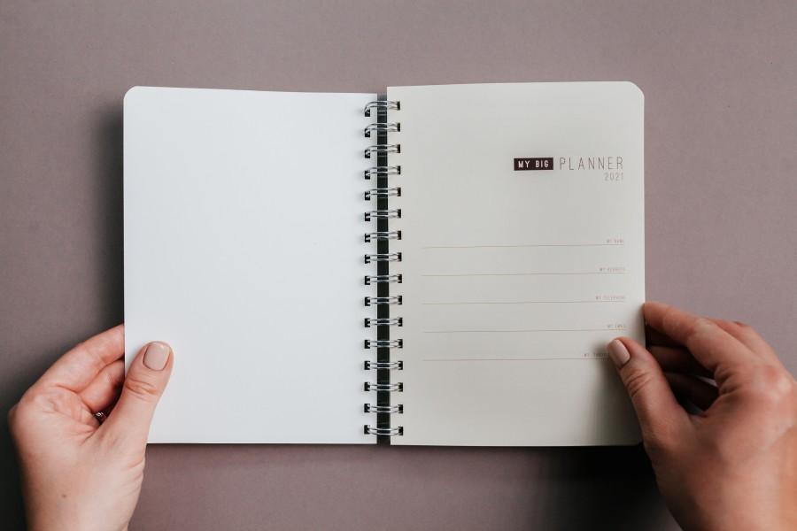 2021 Weekly Planner BOTANICAL